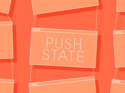 pushState + Ajaxで非同期通信を行う