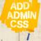 WordPressの管理画面を CSSでカスタマイズできるプラグイン Add Admin CSS
