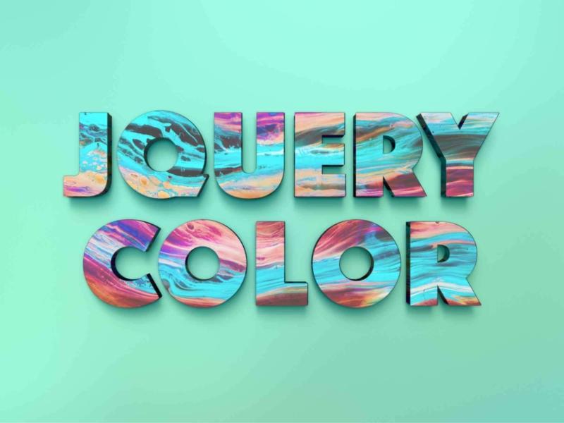 文字や背景の色を変化させる jQueryプラグイン jQuery Color
